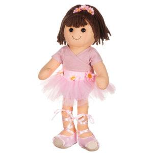 Bambola Carla ballerina rosa