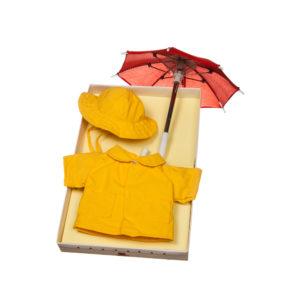 Kit impermeabile, ombrello e cappello My Doll