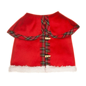 Cappotto in tessuto pesante rosso