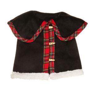 Cappotto in tessuto pesante nero