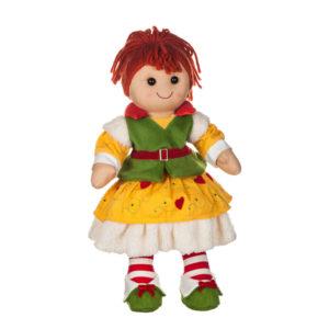Bambola Elf con gonna gialla