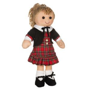 Bambola Scottish con scamiciato Amelia