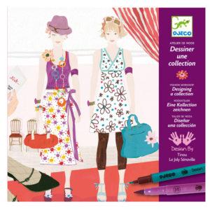 Disegna la tua collezione di moda – Dessiner une collection