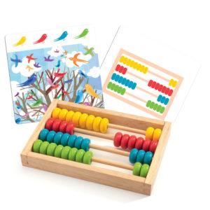 Impara a contare usando l'abacus – Boulier