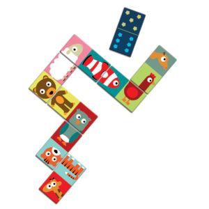 Puzzle domino con animali – Domino animo-puzzle