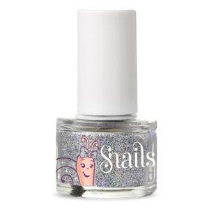 Glitter Silver Snails