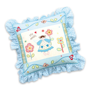 "Cuscino con volants ""My Angel"" My Doll"