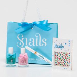 Confezione regalo smalti atossici per bambine Snails