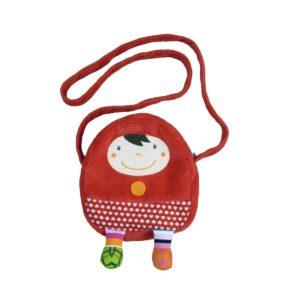 Borsetta Cappuccetto Rosso – Mini-sac Chaperon Rouge Ebulobo