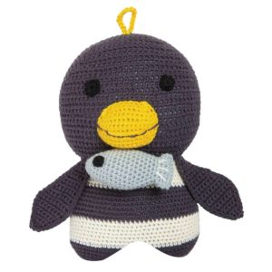 Carillon Franck&Fischer in crochet Pinguino Molly