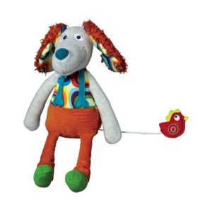 Carillon le chien Antonine- Linea Happy Farm Ebulobo