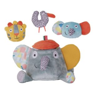 Gioco Ziggy l'elefante attività – Ziggy l'éléphant d'activités Ebulobo
