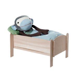 Letto in legno per bambole e pupazzi Franck&Fischer (da montare – no accessori)