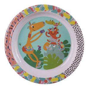 piatto piano con sponde – Linea Jungle boogie Ebulobo