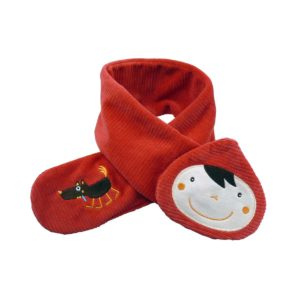 Sciarpa Cappuccetto Rosso – Linea Louloup Ebulobo