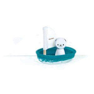 barca a vela orso polare- Sailing Boat Polar Bear PlanToys