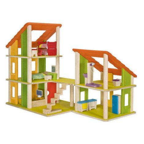 casa Chalet Dollhouse arredata PlanToys
