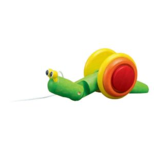 chiocciola da tirare – Pull-Along Snail PlanToys