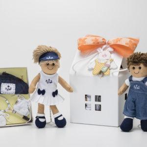 Confezione regalo My Doll 25 cm con casetta