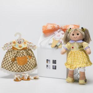 Confezione regalo My Doll 32 cm con casetta