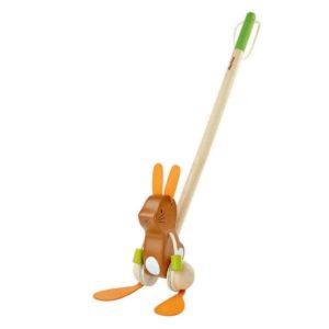 coniglietto danzante da spingere – Dancing Bunny PlanToys