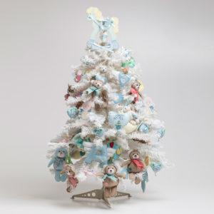 Decorazioni per albero di Natale baby lui