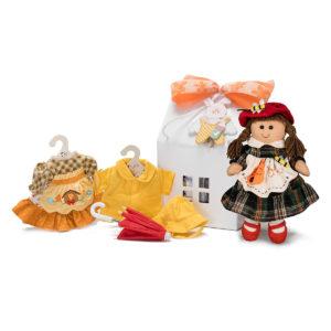 Confezione regalo My Doll 27 cm con casetta