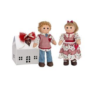 Confezione regalo My Doll bambole grandi e casetta
