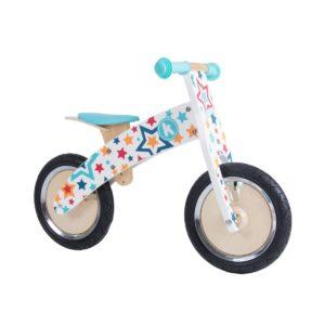 Bicicletta da Equilibrio in Legno Stelle Kurve -KiddiMoto