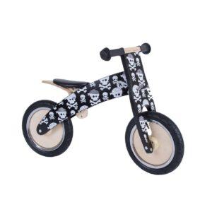 Bicicletta da Equilibrio in Legno Teschi Kurve-KiddiMoto