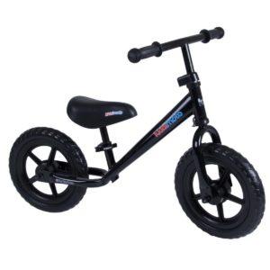 Bicicletta da Equilibrio Nera Super Junior-KiddiMoto
