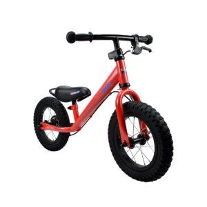 Bicicletta da Equilibrio Rossa Super Junior KiddiMoto