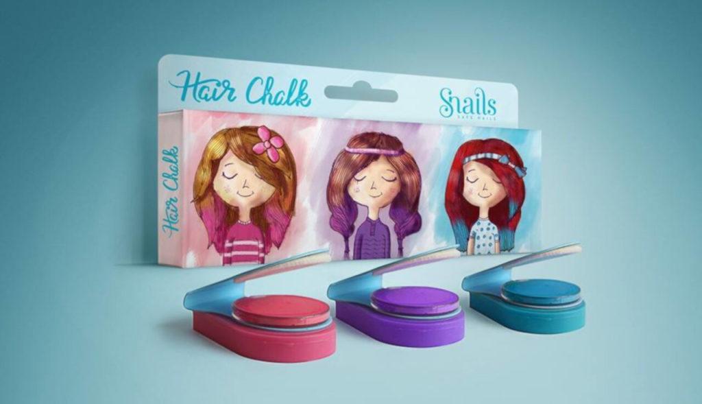 Snails Hair Chalk - Gessetti colorati per capelli