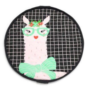 Sacco Portagiochi e Tappeto – Collezione Soft – Lama Play&Go
