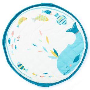 Sacco Portagiochi e Tappeto - Collezione Soft - Moulin roty Play&Go