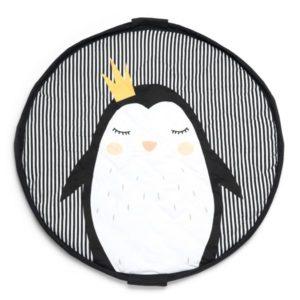 Sacco Portagiochi e tappeto Collezione Soft – Pinguin Play&Go