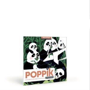 – Cartoline puzzle tascabili con adesivi – Wild Animals  – Cartoline puzzle tascabili con adesivi – Wild Animals