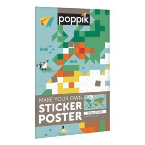– Mondo – Poster gigante con 1600 adesivi  – Mondo – Poster gigante con 1600 adesivi