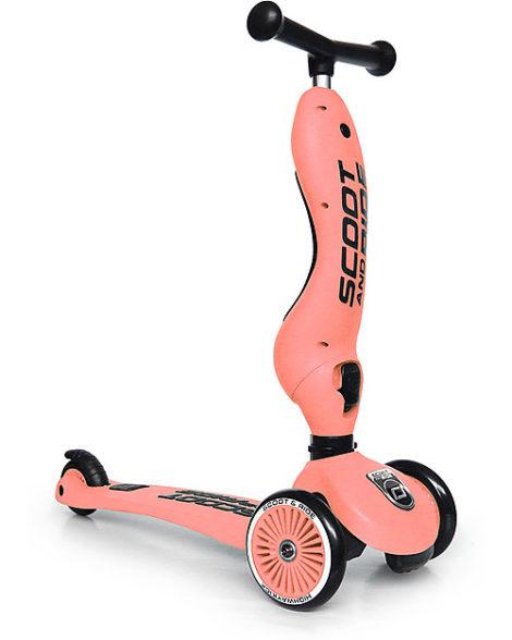 Monopattino evolutivo 2 in 1 e triciclo Highwaykick 1 Peach – pesca